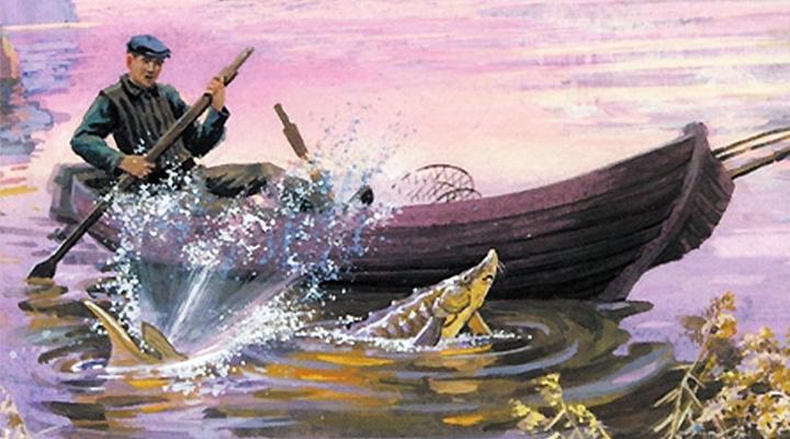 царь-рыба рыбак рассказы